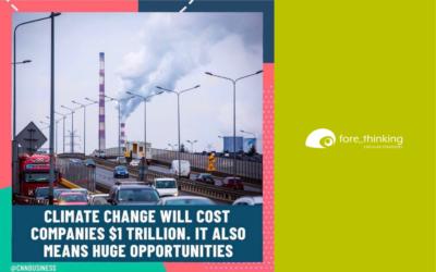 Cambiamento climatico e opportunità di business