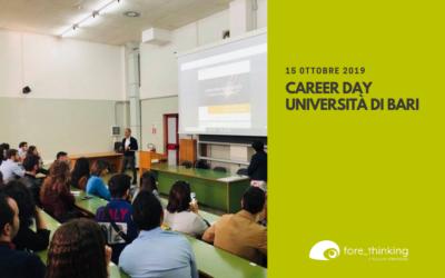 Fore Thinking al Career Day – Università di Bari